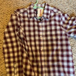 Youth button up